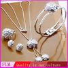 2014 fashion silver color jewelry set FS245, 2014 Fashion jewelry