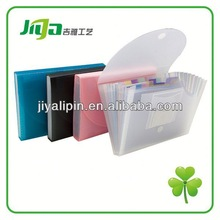 2014 clear plastic document case