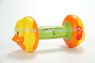 YQ8801 BO PLASTIC MUSICAL DUMBBELL TOY/BABY MUSIC TOY