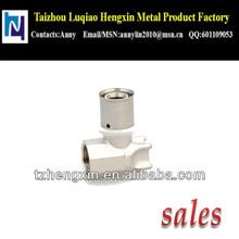 "20X1/2"" chrome plated brass pipe fitting HX-8702"