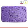 50*80cm luxurious anti-slip memory foam anti fatigue sponge bath mat