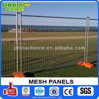 Retractable Plastic base temporary fencing(AU type)