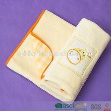 coral fleece receiving double layers baby blanket wholesale, baby blanket
