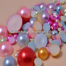rice 6-7mm black jewelry accessories aaa loose tahitian pearl