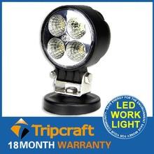 "Top Sale!!! 12V Driving Worklight 12W LED WORK LIGHT Super Bright Round Led Work Light 3"" Auto Headlight for Truck, Atv,Trailer"