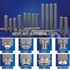 Reusable 0.45um Titanium(TI) Sintered filter cartridge/Metal Filter