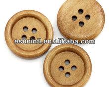 2014 factory custom wood shirt buttons
