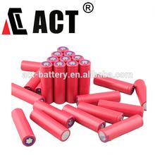 Top sell A quality UL/UN approved 3.7V li-ion 1500mAh/2000mAh/2200mAh/2400mAh/2600mAh 18650 battery