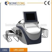 New technology 650nm 10 paddles slimming machine lipolaser