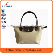 fabric printing logo bag luxury brand shopping bags with zipper