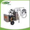 Gasoline engine and electric vacuum pump milk sucking machine