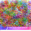 Newest hot selling colorful loom elastic bands BY041304