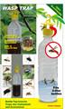 botella de plástico de insectos trampa de avispas