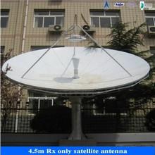 4.5m satellite tv antenna equipment