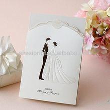 Customized wedding photo frame card For Wedding Decoration