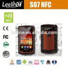 2014 new product S07 military rfid reader smartphone alibaba china