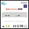 Onvif Linux DVR/HVR/NVR 3 in 1 P2P h.264 real time cctv 8ch hybrid DVR Rohs conform