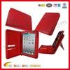 For ipad zipper bag,portfolio leather case for apple iPad air,folder leather case for ipad 2