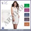 Sleeveless White bandage dress sexy cheap summer dress