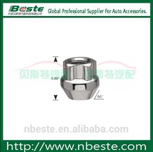 "0.86"" Length M12X1.50 Thread Steering Wheel Car Locks Locking Wheel Nuts Wheel Nut Remover"