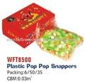 popular artifício de brinquedo de plástico pop pop lutjanídeos