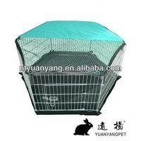 indoor out door portable galvanized steel dog run rabbit fence pen