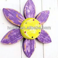 rustic wooden flower wall art summer decor