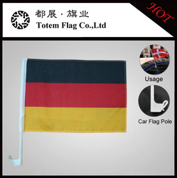Cheap Car Flag Pole , German Flag Car , Country Flags For Car
