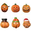 Wholesale Halloween Smile Foam Pumpkin Face Mask