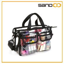 PVC Clear Plastic Makeup Artist Set Bag Cosmetic Organizer Storage cosmetic case, makeup case