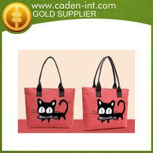 Cheap High Quality Fashion Custom Printed Canvas Tote Bags