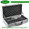 New Handgun Safari combination lock egg foam Aluminum Gun Pistol Case