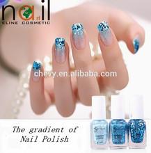 6ml environmental gradient nail polish colorful series for 2014