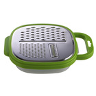 Coconut Grater With Plastic Box Cheese Grater Multi-Function Grater