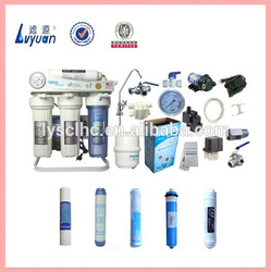 CE certified 5 Stage ro water purifier ro spare parts/reverse osmosis filter