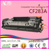 AColor supplies best seller CF283A toner cartridge for HP printer consumables 83A 283A