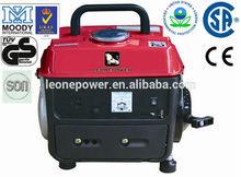 HOT 500w small portable mini petrol generator with CE/EPA/GS/ISO9001