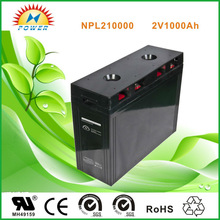 solar battery 2v 1000ah for solar and wind system