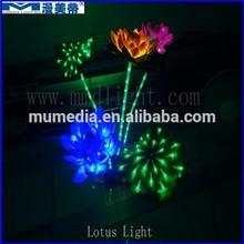 Led luces decorativas luz de loto