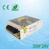 24VDC switching power supply/110v ac to 24v dc power supply