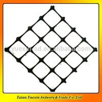 Polypropylene Biaxial Geogrid,black plastic grid