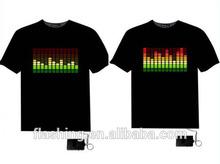 Hot sell led t-shirt