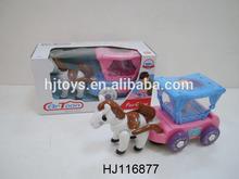 Electric Toys Flashing Carriage, B/O Plastic Toys, Music Kids Toys