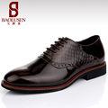 china fábrica de calçados estampados patente sapatos de couro