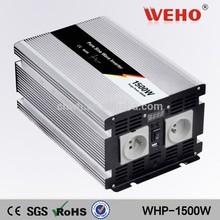 Best price 12v 220v pure sine wave 1500w inverter 50hz car power inverter
