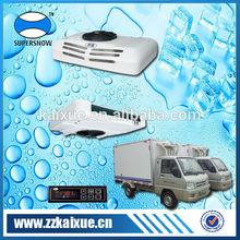 Heating defrost system van refrigeration units