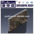 Recém-chegados granito painéis colméia de alumínio para a decoração da parede interior