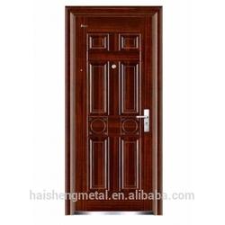 Simple & Concise Style Steel Door OEM American Steel Door Customized