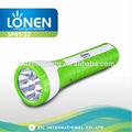 lonen 2014 9 nouveau plastique led high power led flashlighting