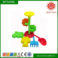 New product 5PCS mini plastic sand set toy beach toys for kids
